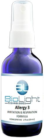 Allergy 3 - Irritation & Respiration Formula